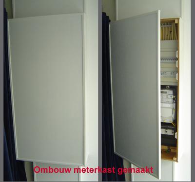 Keukenkast Monteren Ombouw Meterkast